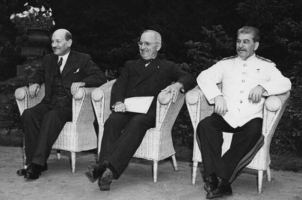Потсдамская конференция: последняя встреча «Большой тройки»