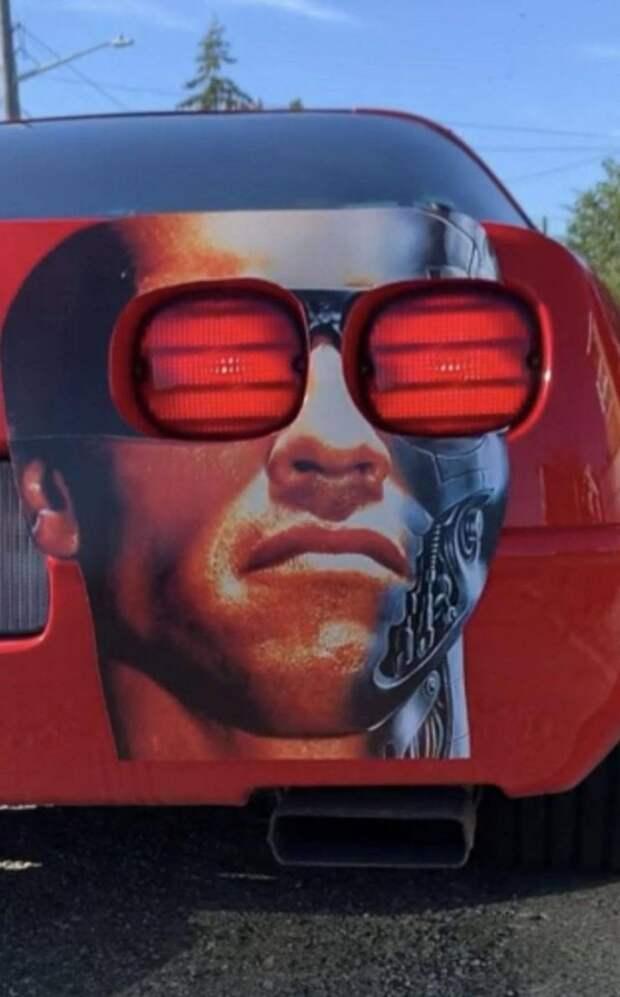 Терминатор на автомобиле