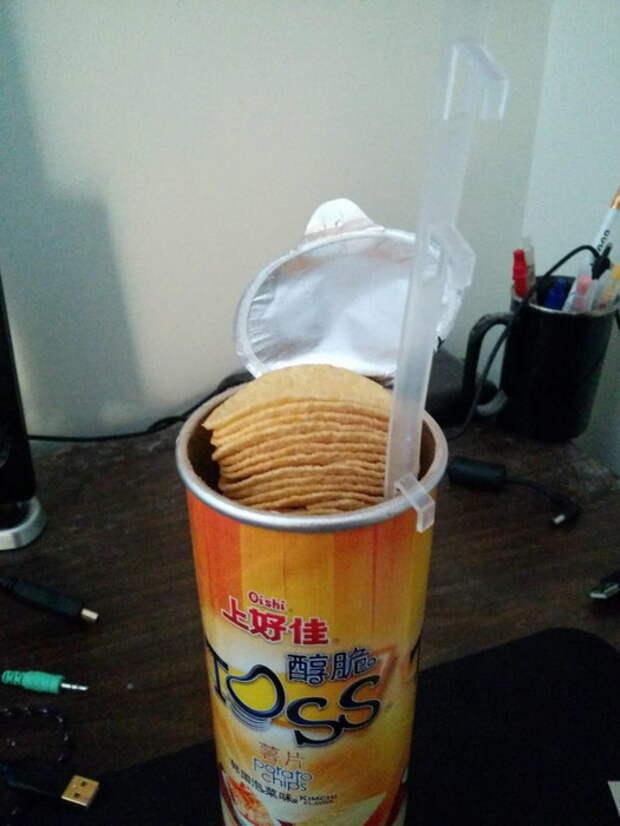 Подъемный механизм для чипсов.