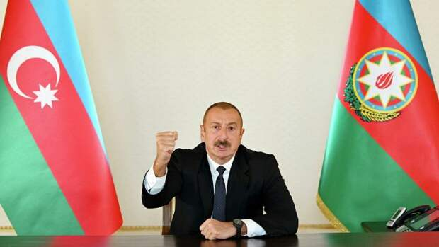 Президент Азербайджана о прекращении боёв в Карабахе