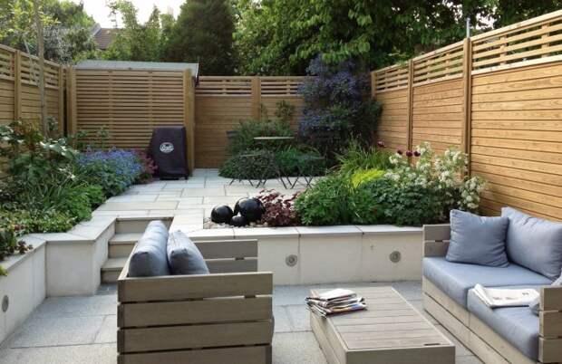 Озеленение дачного участка при помощи многолетних растений и цветов.
