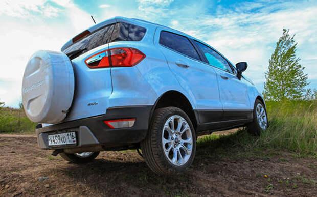 Обновленный Ford EcoSport: три цилиндра, автомат и полный привод