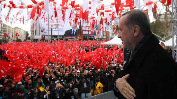 Эрдоган сделал традиционное заявление о непризнании Крыма
