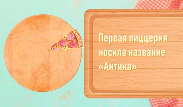 «Самая дорогая пицца в мире стоит 8 300 евро» и еще 9 неожиданных фактов о пицце