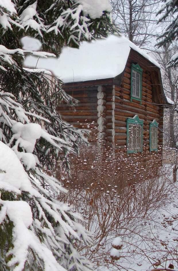 Как я утеплял деревянный дом