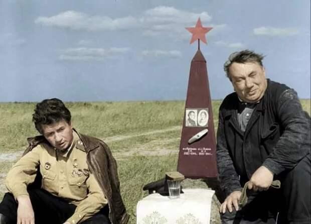 Истории песени СМУГЛЯНКА из к/ф «В бой идут одни «Старики».