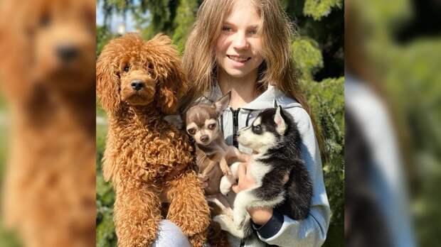 УТрусовой появился щенок хаски: «Добро пожаловать всемью!»