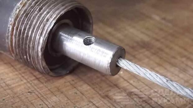 Как сделать глубинный вибратор для бетона