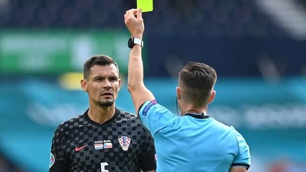 Матч Хорватия— Чехия несыгран полностью: будетли первый судейский скандал наЕвро?