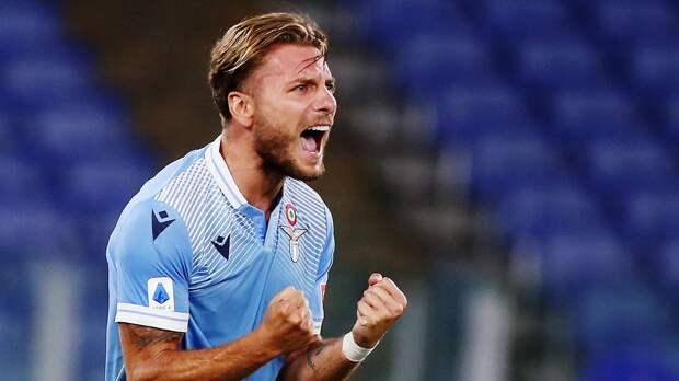 Гол Иммобиле помог «Лацио» выиграть у «Болоньи»