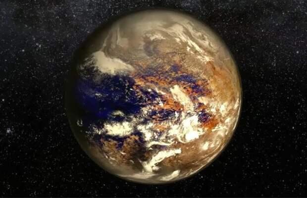 Планета похожая на Землю находилась между Сатурном и Ураном