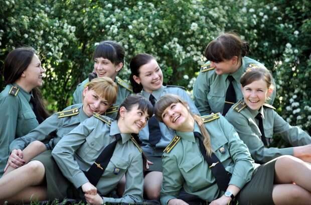 От тайги до британских морей ... : Лица девушек из Российской армии (52)