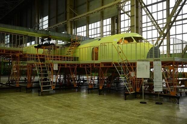 Фюзеляж самолета Ил-112В на ВАСО