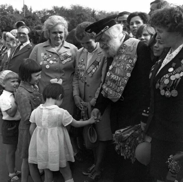 Спасибо деду за Победу! 9 Мая 1970 история, ретро, фото