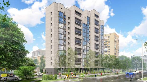Дом по программе реновации на Академика Комарова введут в этом году