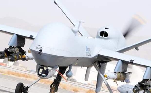 На фото: американский беспилотник 'MQ-9 Reaper'