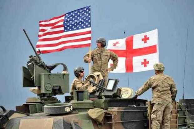 Ядерное оружие США на Кавказе – Грузинская верхушка соревнуется с Украиной в русофобии