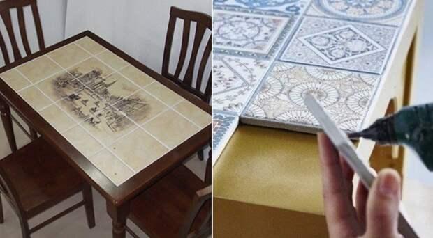 что можно сделать из остатков керамической плитки