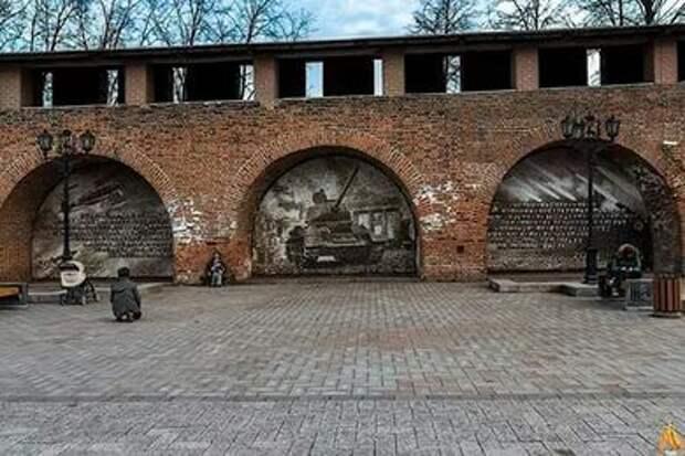 Три уникальных панно из фото в Нижнем Новгороде