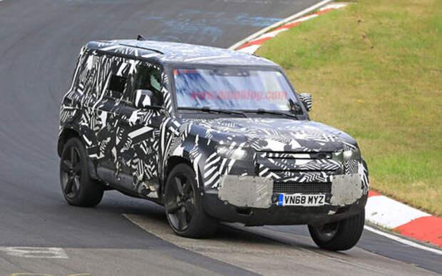Land Rover Defender получит три версии кузова