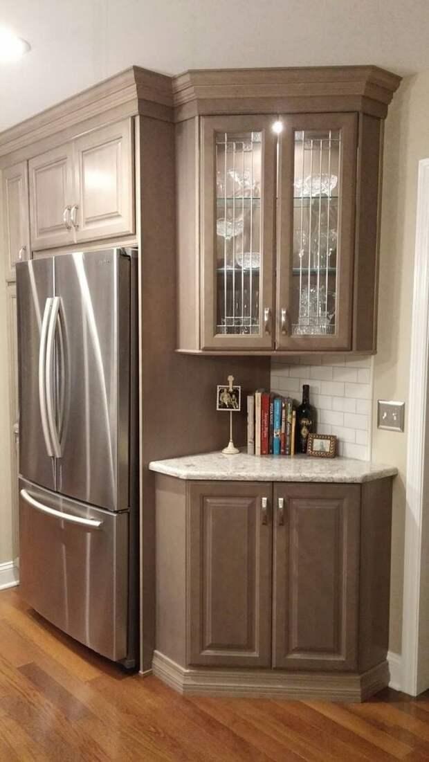 Идеи компактных и очень удобных угловых кухонь