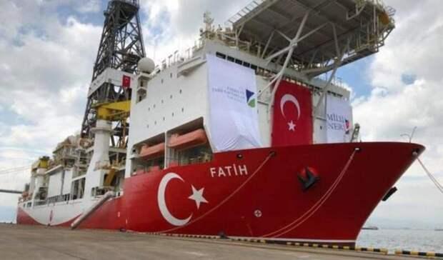 Газовые месторождения обнаружила Турция вЧерном море
