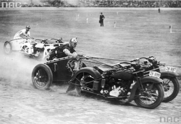 Куда, черт побери, пропали гонки на мотоколесницах? Владимир Бровин
