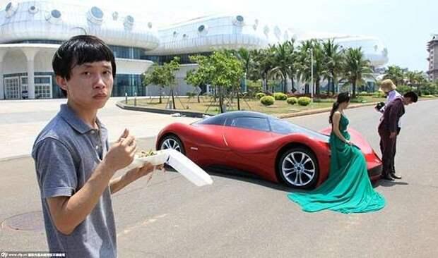 Китайский самодельный автомобиль (14 фото)