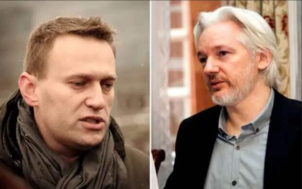 Ассанж и Навальный: перевёрнутое зеркало
