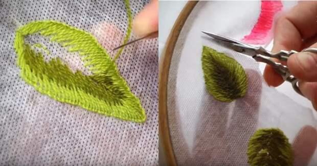 Потрясающая объемная вышивка. Красиво не значит сложно, справится и новичок