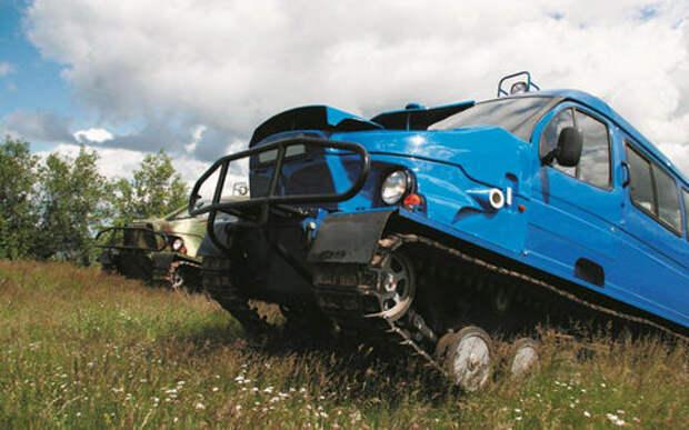 15 крутых вездеходов на базе автомобилей ГАЗ