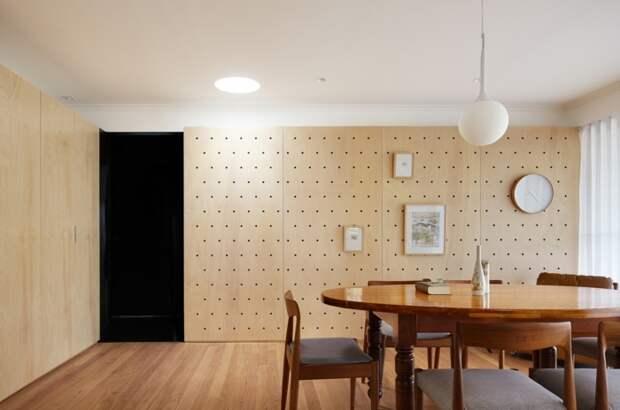 Незаменимый помощник в маленькой квартиреи на даче — перфорированная панель