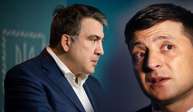 Ситуация с Саакашвили ещё сильнее подорвала репутацию Зеленского
