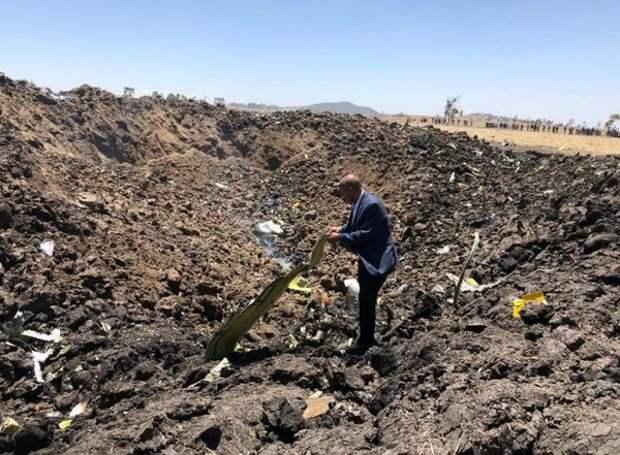 На борту разбившегося в Эфиопии самолета находились трое россиян
