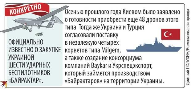 Далеко ли может зайти дружба Киева и Анкары, и чем она грозит России и самой Украине