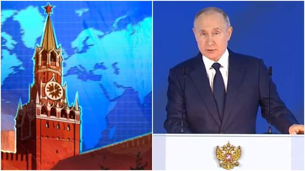 Евстафьев объяснил, чем послание Путина испугало Запад и вызвало траур на Украине