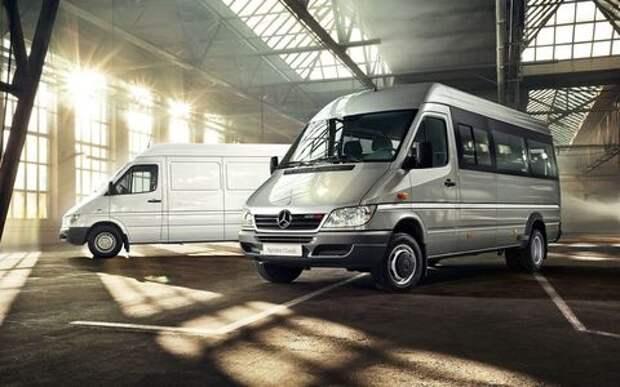 В России приостановлена сборка Mercedes-Benz Sprinter Classic