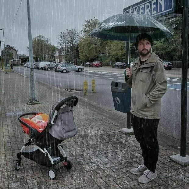 Не люблю дождливую погоду...