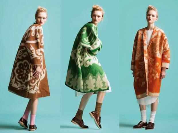 Marit Ilison: пальто из советских одеял