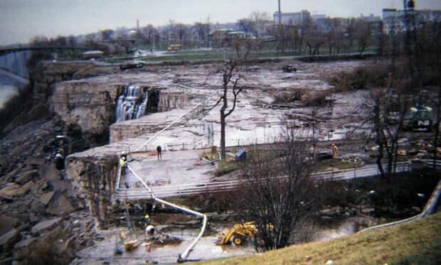 Что скрывают воды Ниагары: как ремонтировали знаменитый водопад