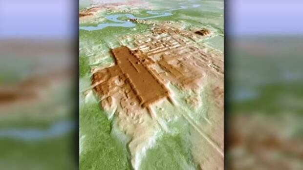 Старейшее и крупнейшее сооружение майя обнаружено в южной Мексике