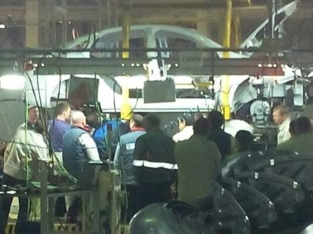 АВТОВАЗ начал тренировки по сборке кузова Lada Vesta