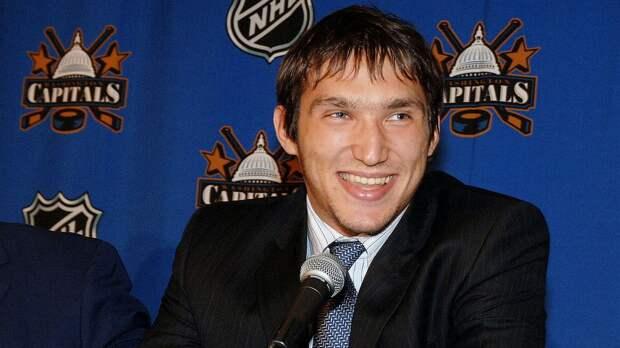 Овечкин разбил заградительное стекло и ворвался в НХЛ дублем. 15 лет первому матчу русской звезды за «Вашингтон»