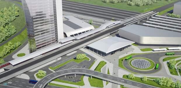 Крупнейший ТПУ в Европе появится на станции метро «Нижегородская»