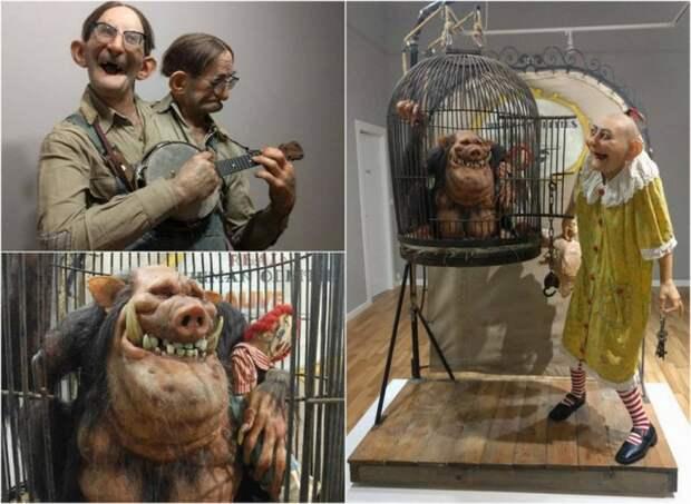 Скотт Томас Кюблер: выставка неординарных скульптур
