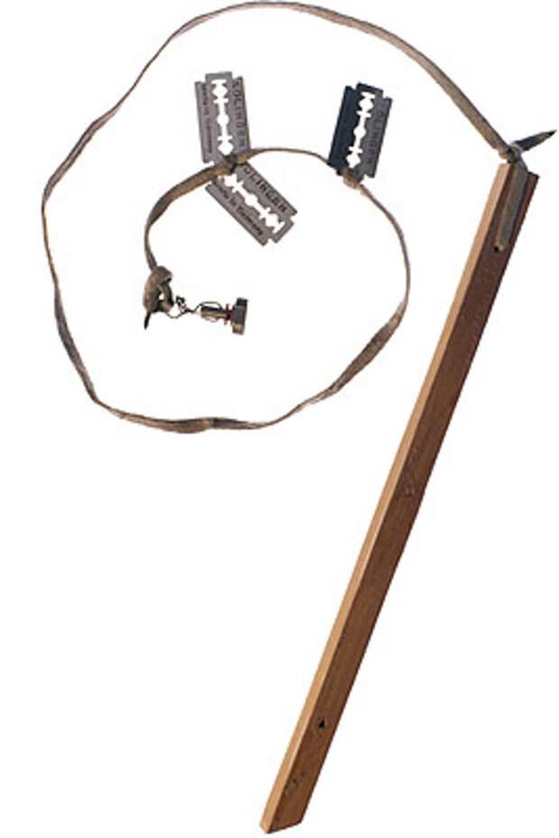 Инструменты, которые заключенные использовали для побега