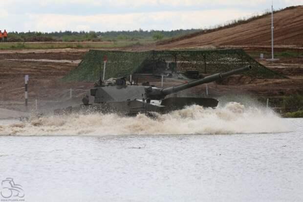 У России появится новый танк, который приземляется с неба (ФОТО)