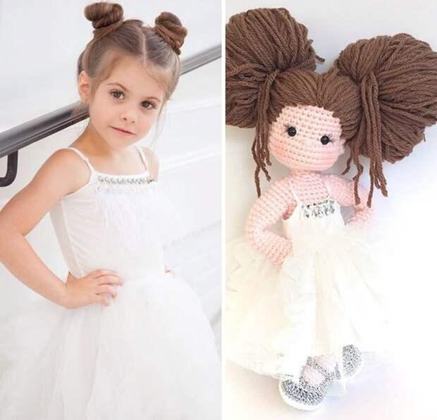 Многодетная мать делает вязаные куклы-портреты вязание, вязаные куклы, куклы, куклы-портреты, мамины радости, мастерица, рукоделие, симпатично