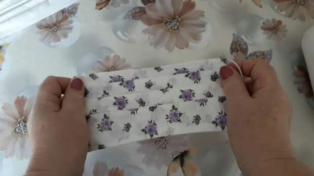 Защити себя и близких! Многоразовая тканевая маска своими руками