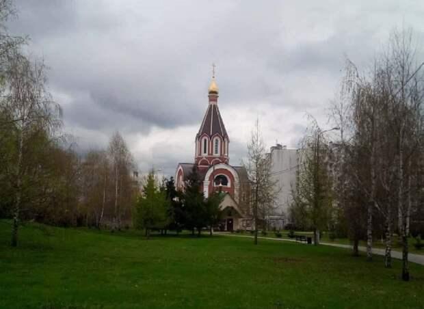 Храм в районе Люблино / Фото: Ольга Соколова